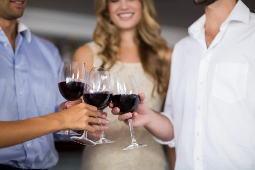 Kui palju võib punast veini juua, et see oleks tervisele kasulik?