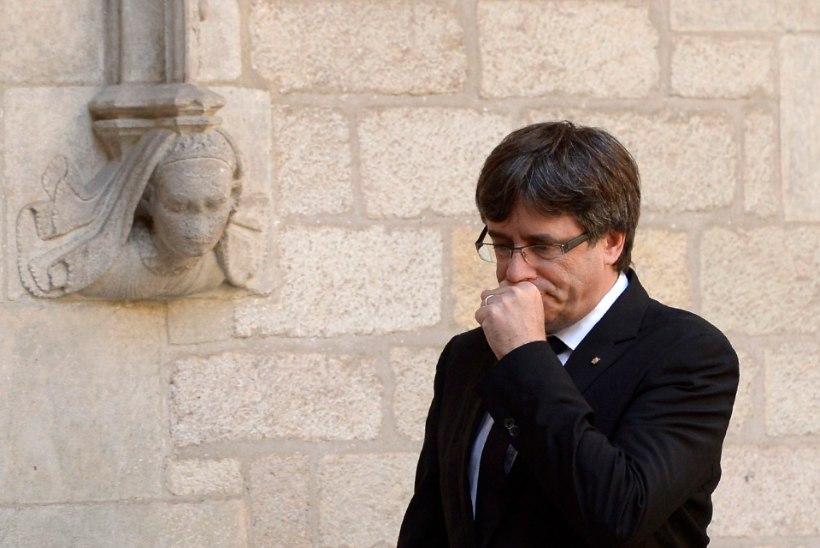Kataloonia presidenti võib ees oodata vahistamine
