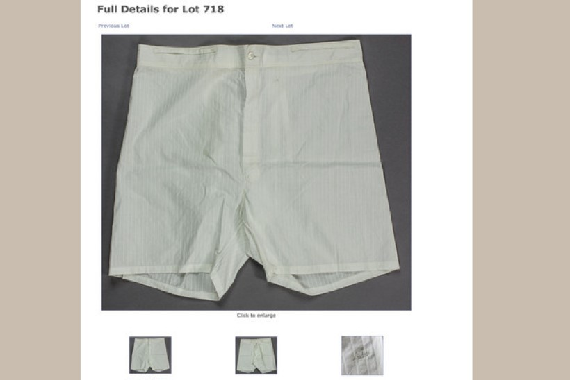 Adolf Hitleri aluspükste eest maksti oksjonil 6737 dollarit