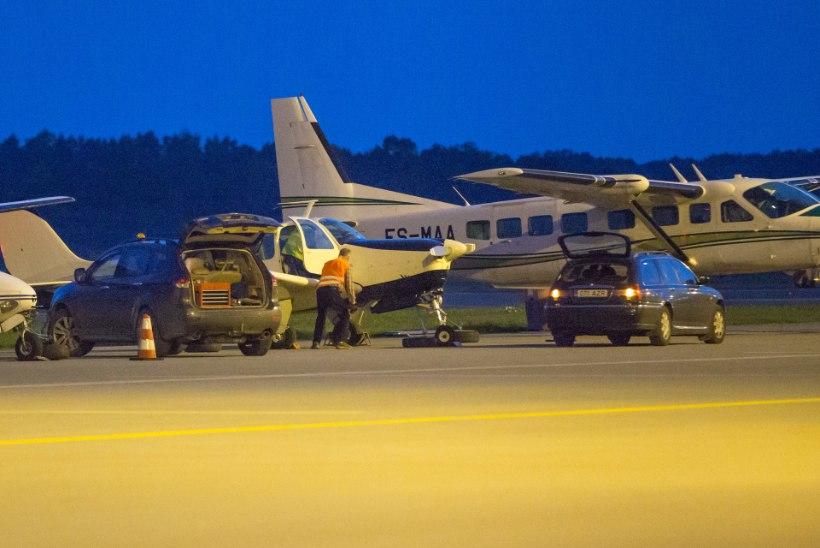 Õnnelik õnnetus: Tallinnas hädamaandunud lennuk polnud tõsiselt hädas