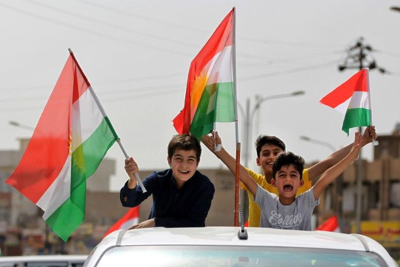 Iraagi kurdid hääletasid ülekaalukalt iseseisvuse poolt