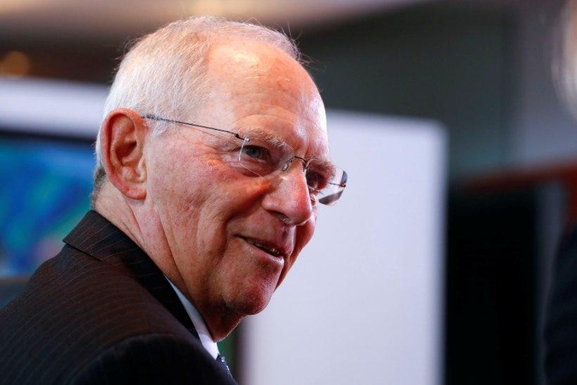 Angela Merkel ohverdab Wolfgang Schäuble