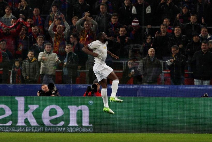 PSG küttis Bayernil naha kuumaks, Man United lustis Moskvas