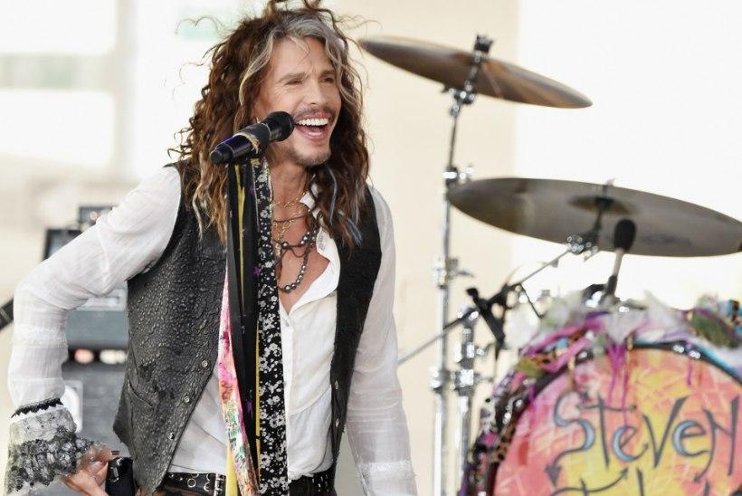 Aerosmithi laulja katkestas tervise tõttu turnee