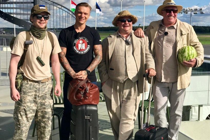 Tanel Padar, Ott Sepp, Sepo Seeman ja Ago Anderson põrutavad Gruusiasse!