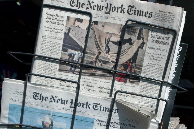 New York Timesi nudistidest lugejad fännavad pilti Eestimaa suvest