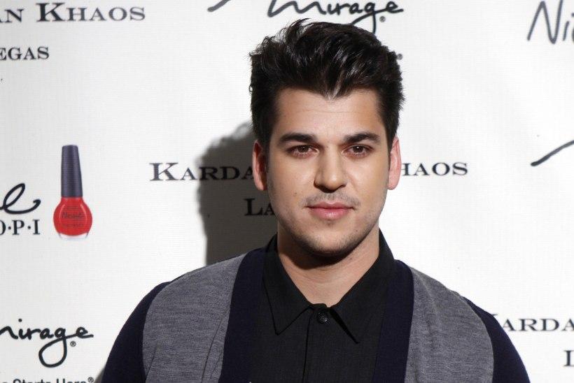 Rob Kardashian süüdistab oma lapse ema kägistamiskatses
