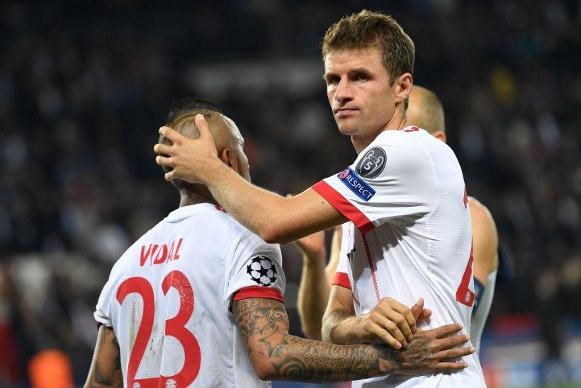 HÄMMASTAV: kõik sel nädalal eurosarjades võistlustules olnud Saksamaa vutiklubid kaotasid