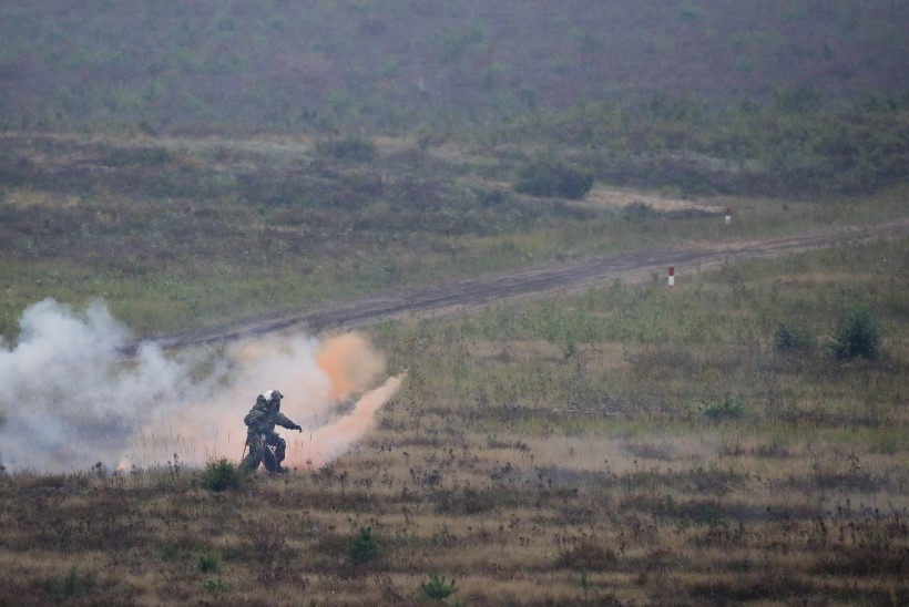 Viimased Zapadil osalenud Vene sõdurid lahkusid Valgevenest