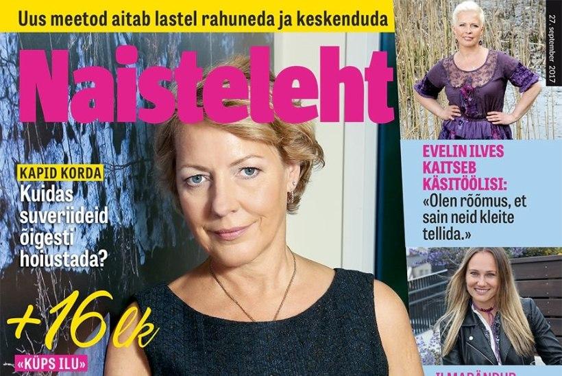 Alati särav näitlejatar Rita Rätsepp jagab igavese nooruse retsepti!
