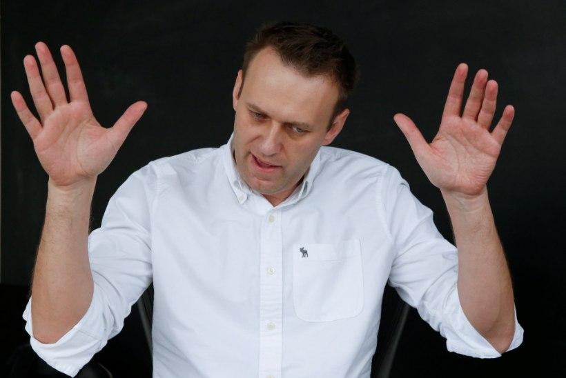 Putini suur kriitik Navalnõi vahistati taas