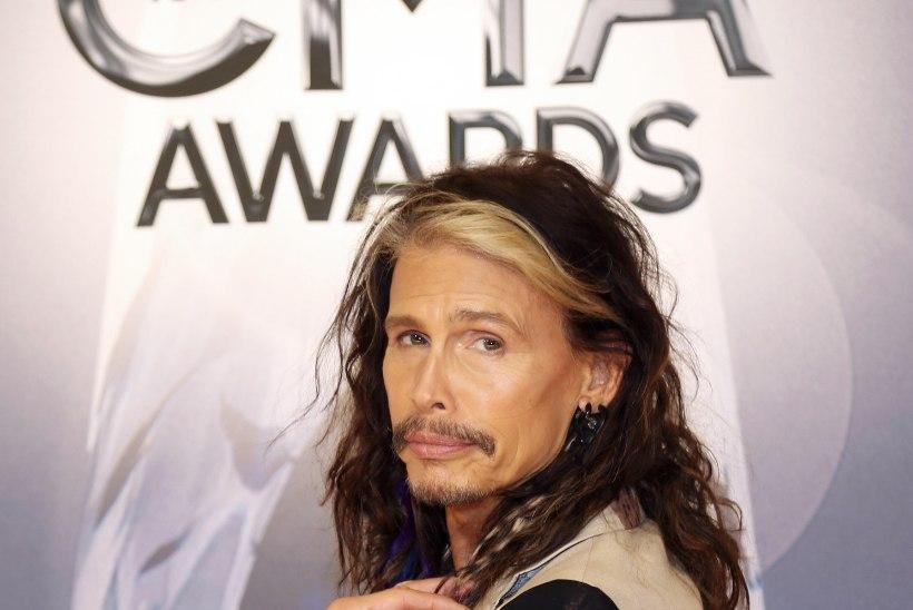 Leht: Aerosmithi rokkarit Steven Tylerit tabas krambihoog