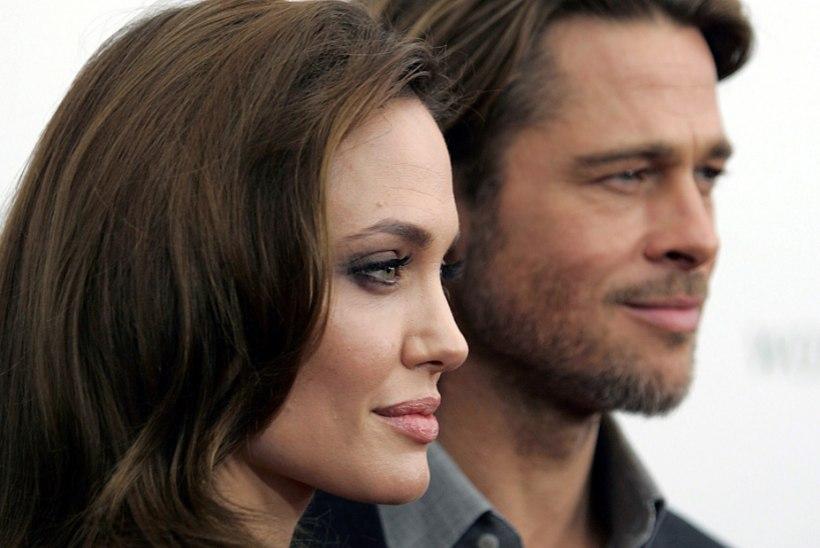 Angelina Jolie ja Brad Pitt maitsevad taas koos armumett