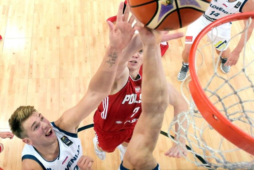 VÄGEV MÄNG! Imelaps Doncic pani Kreeka korvpalli EMil ülimalt raskesse seisu