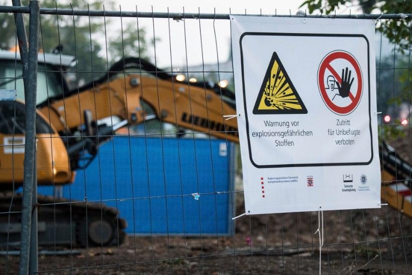 FOTOD | Frankfurdis tehti kahjutuks 1,4-tonnine pomm