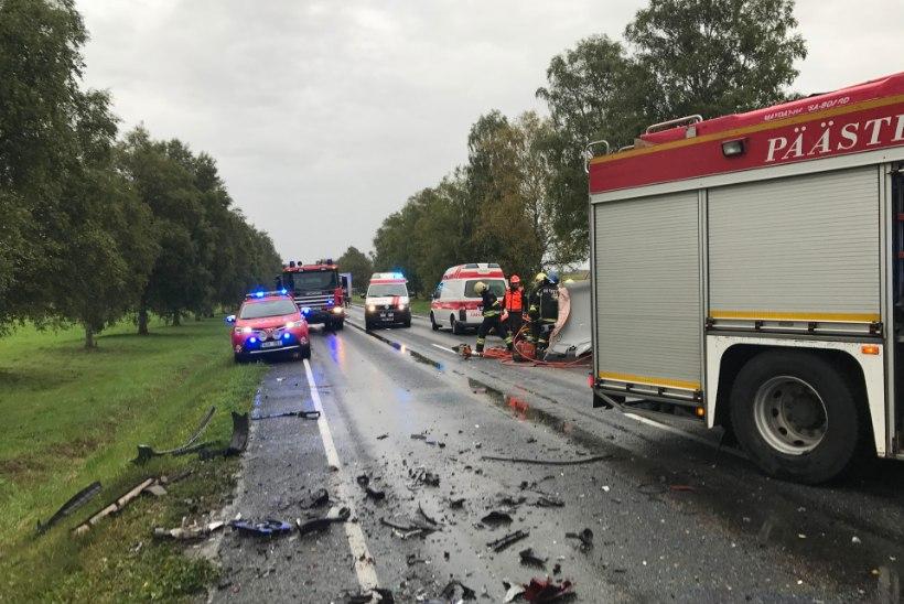 ÖÖPÄEV LIIKLUSES: üks hukkunu, üheksa vigastatut ning 32 roolijoodikut