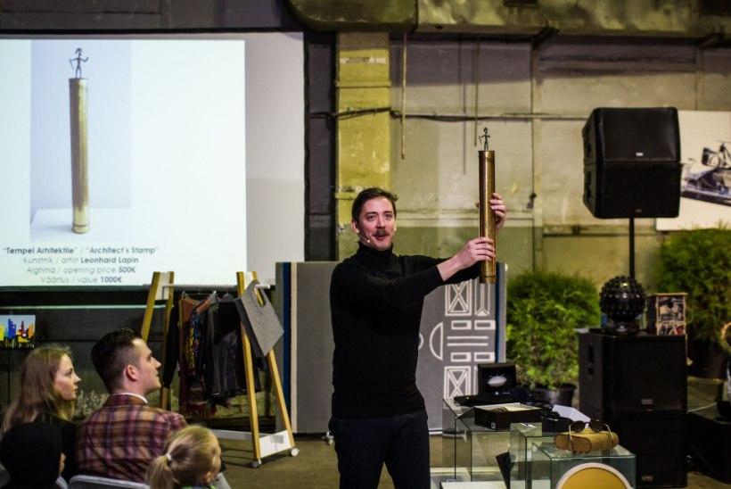 PILDID | Disainisõbrad kogunesid Tallinnas meelelahutuslikule Disainioksjonile