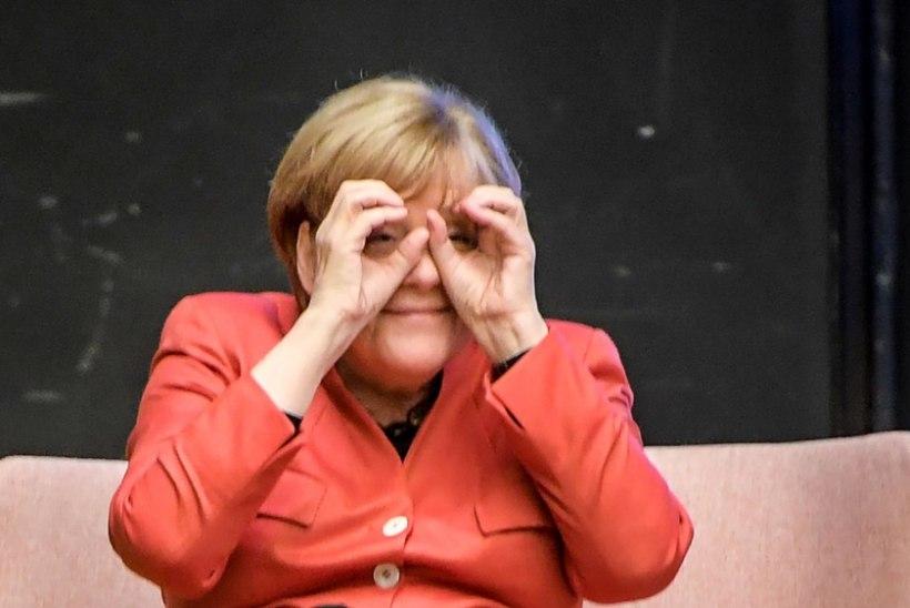 VIDEO | Angela Merkelil tuli president Kaljulaidi kõnet kuulates uni peale