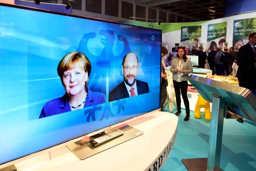 Meedia vaimustub Merkeli valimiseelsest teledebatist