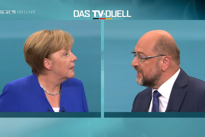 Saksa valimiskampaania ainsa televäitluse võitis Angela Merkel