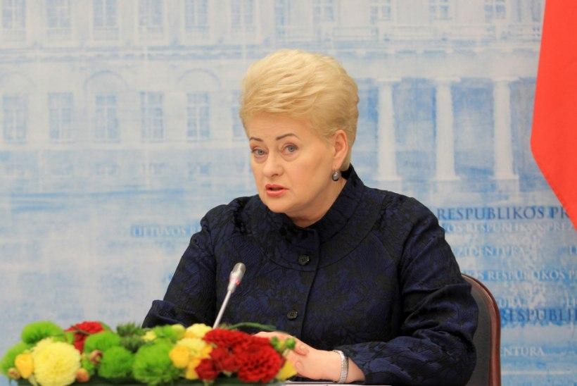 Leedu president: Putini ultimaatumeid ei pane keegi enam tähele