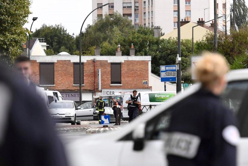 Pariisi politsei arreteeris kaks meest, keda kahtlustatakse pommi valmistamises