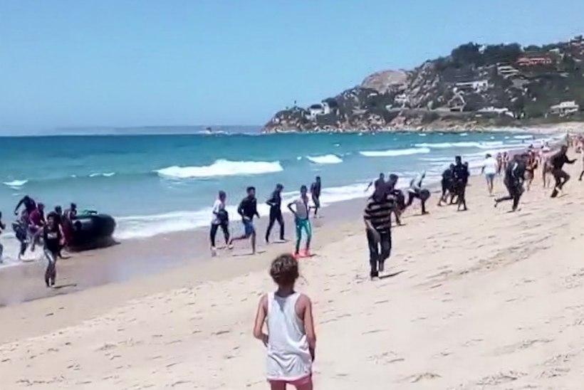 Nädalaga tuli üle Vahemere 5000 migranti