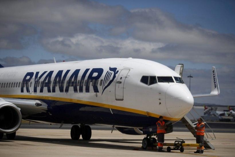 Lennufirma Ryanair seab käsipagasile uued piirangud