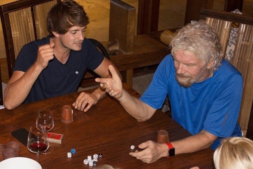 ORKAAN IRMA | Miljardär Branson peidab end veinikeldris