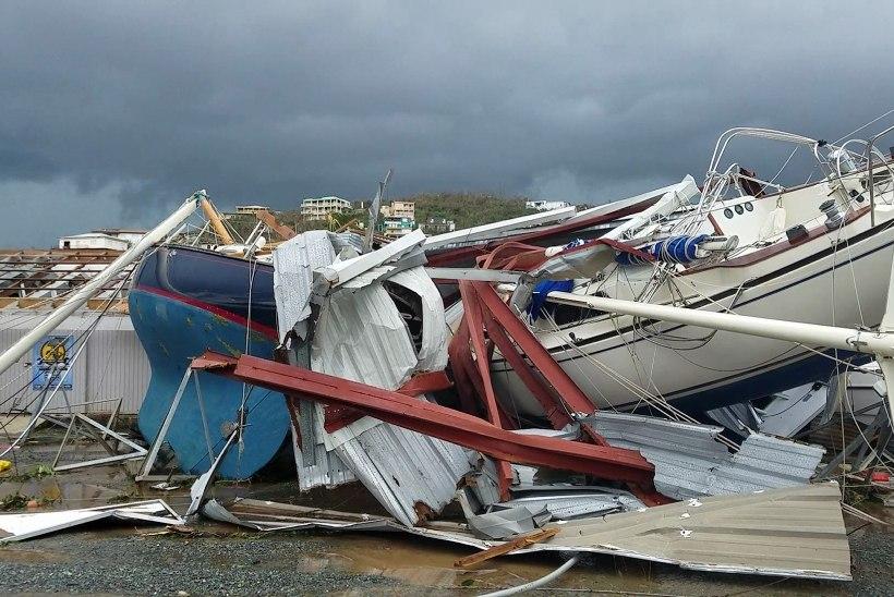 Ülivõimas orkaan Irma liigub Florida poole