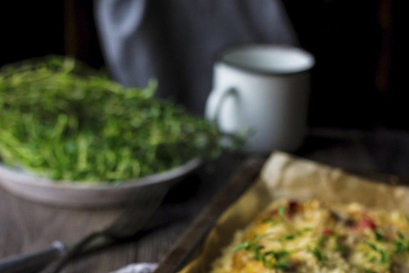 RETSEPT: taljesõbralik kodujuustupõhjaga pitsa