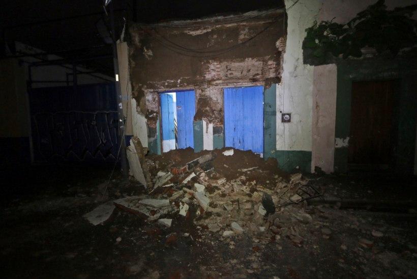 Mehhiko president nimetas tänast maavärinat sajandi suurimaks