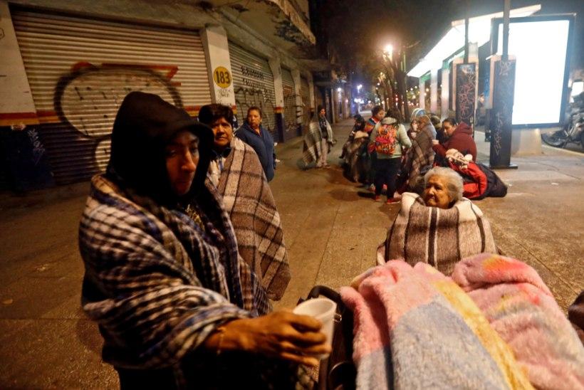 Mehhikot raputanud sajandi maavärinas hukkus 60 inimest