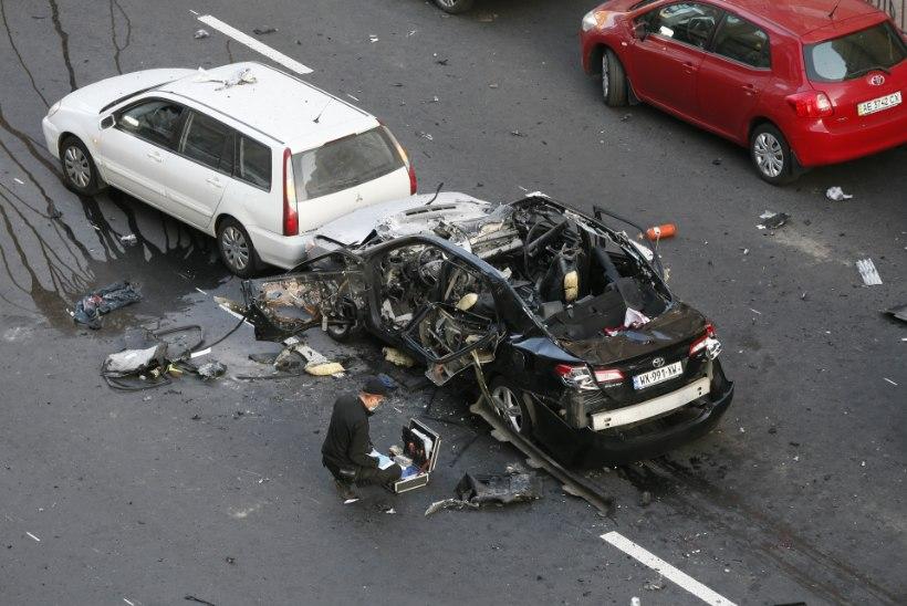"""Kiievis sai autopommi plahvatuses surma Kadõrovi """"isiklik vaenlane"""""""