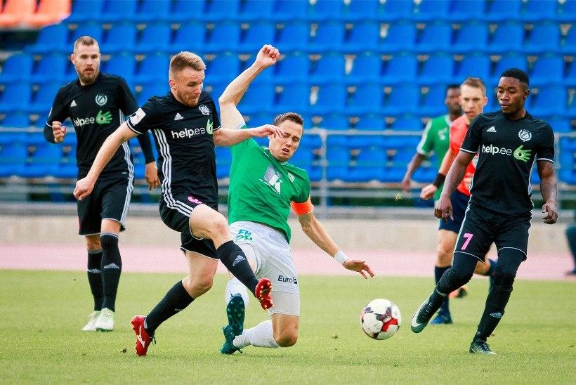 NII SEE JUHTUS | Sport 08.09: Nõmme Kalju ja Levadia viik sobis FC Florale