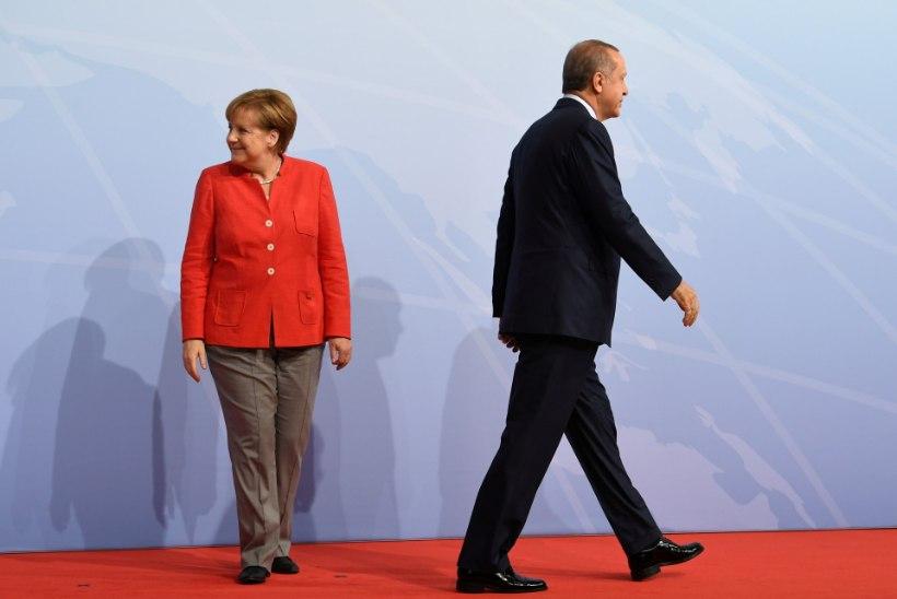 Erdoğan hoiatab türklasi Saksamaale reisimise eest