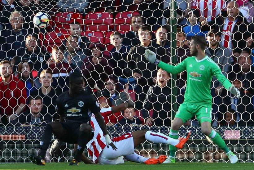 VIDEO | Manchester United komistas tänavu juba neljandal tõkkel