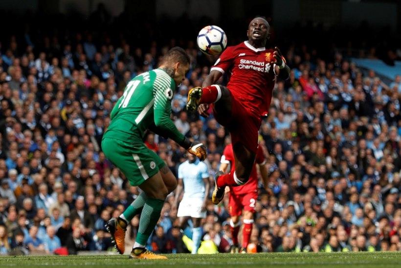 VIDEO   Liverpooli ründetäht sõitis Manchester City väravavahile julmalt sisse, tasuks punane kaart