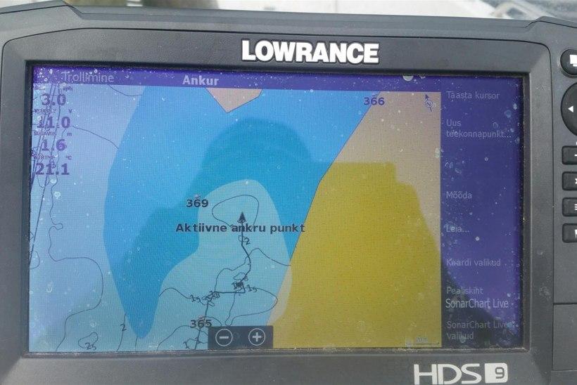 Kartograafia Lowrance kaardiplotteriga