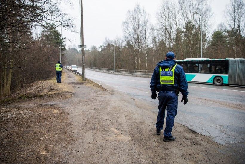 Liinibussile posti peale kukutanud auto juht saadeti mitmeks kuuks vangi