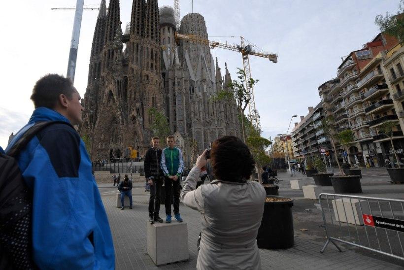 VIDEO | Hispaania arhitektuuripärl Sagrada Familia valmib Eesti vitraažikunstniku abiga