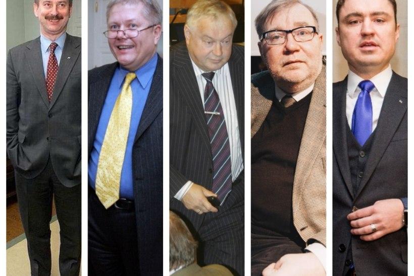 EDETABEL: ministrid, kellele on umbusaldust avaldatud