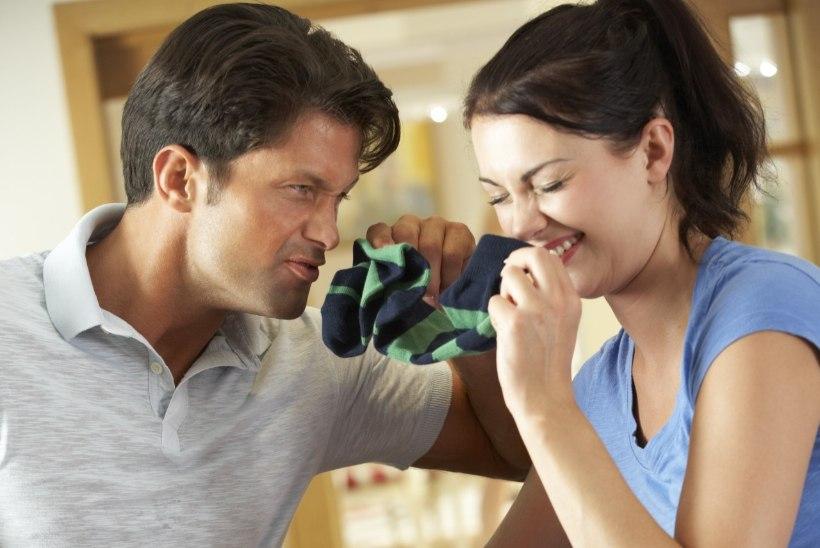 Oled stressis? Nuusuta oma elukaaslase musta pesu!