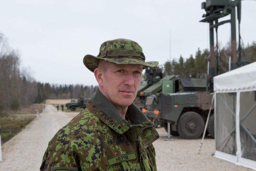 Kaitseväe järgmiseks juhatajaks saab brigaadikindral Martin Herem