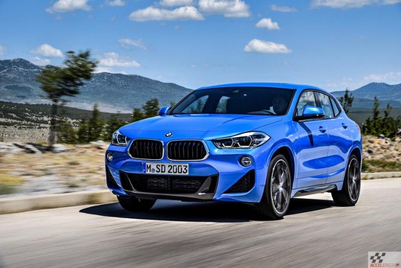 Pilk peale: BMW X2 kompaktne linnamaastur võlub elegantsi ja millegi tabamatuga