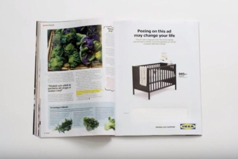 IKEA kutsub kliente üles ajakirjale pissima