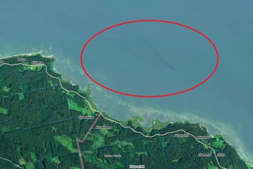 Kunda vabriku katkisest torust jookseb heitvesi merre vales kohas