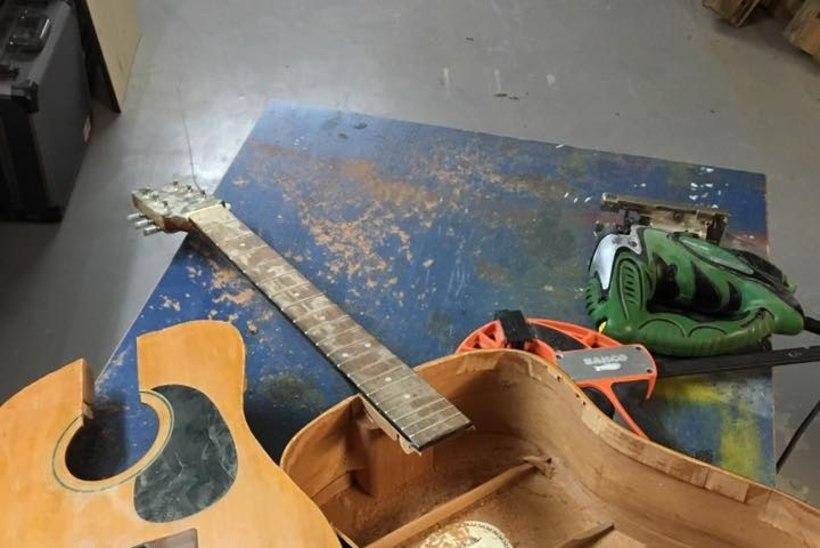 Muusik Jaagup Kreem annab vanadele asjadele uue elu: kui on vaja mõtteid koondada, on puutöö tegemine selleks parim viis