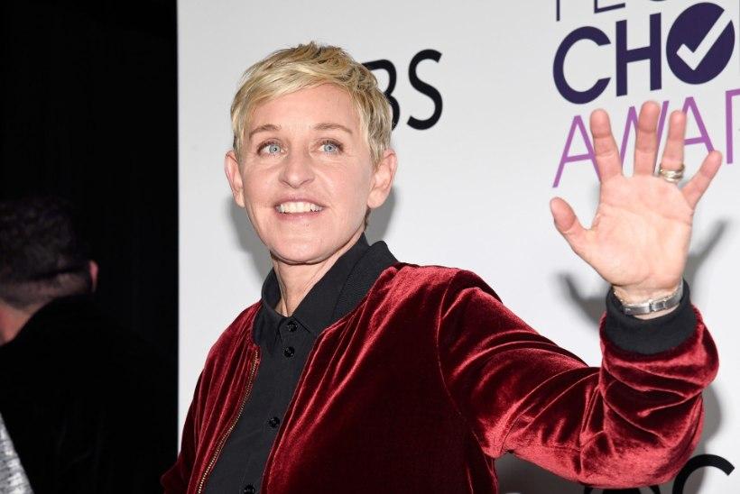 """Ellen DeGeneres leinab oma isa: """"Ta oli minu üle väga uhke ..."""""""