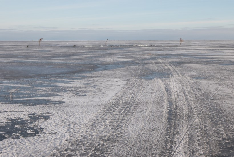 Homsest piiratakse liikumist Narva veehoidla ja Peipsi järve jääl